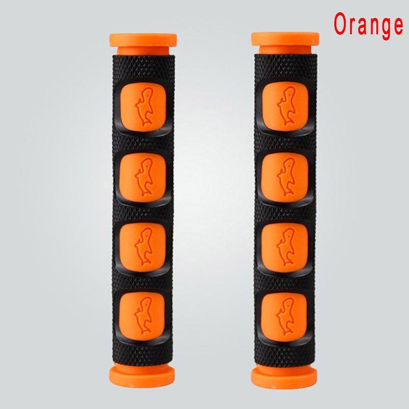 2 шт./пара окружающей среды резиновые мотоциклетный рычаг для тормоза, сцепления для рукоятки руля для мотоцикла защита рукоятки - Цвет: Оранжевый