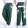 Бесплатная доставка плюс размер XL-5XL весна мужские хип-хоп брюки брюки хлопок печати эластичный пояс осень extra large мужские спортивные штаны