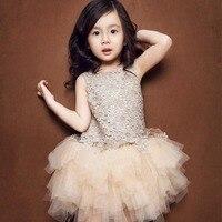 Wholesale 5pcs Lot Summer New Lace Girl Dress Baby Girl Princess Dress 3 7Y Chlidren Clothes