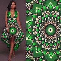 African Veritable Real Wax Prints 6yards Ankara Printed Fabric Super High Quality Cotton Fabrics Hollandais Good