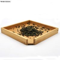 Bamboo Tea Tray Natural Bamboo Beautiful And Elegant Home Simple Supplies