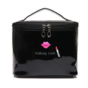 Pu Leather Cosmetic Bag Case For Women B
