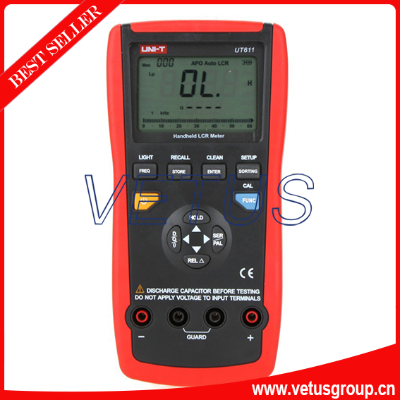 UT611 Inductance Capacitance Resistance Frequency Tester LCR meter ut612 digital lcr meter with inductance capacitance resistance frequency tester