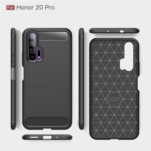 Image 5 - For Huawei Honor 20 Pro Case Armor Protective Soft TPU Silicone Phone Case For Huawei Honor 20 Pro Back Cover For Honor 20 Pro