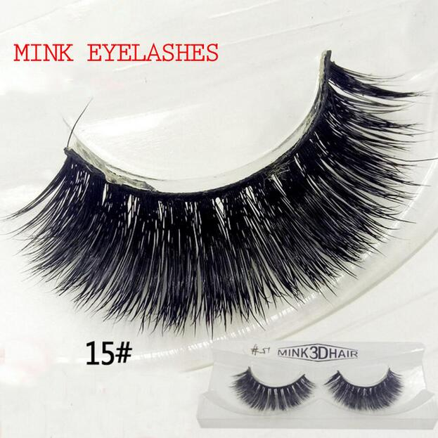 3D Mink Lashes Natural and Volume False Eyelashes Soft Strip Lashes Long Eyelash Extension Eye Lash for Makeup Tools HP1020