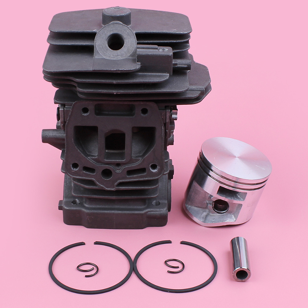 44mm Cylinder Piston Pin Ring Circlip Kit For Stihl MS251 MS 251 Gas Chainsaw Garden Tool Spare Part 38mm om36 cylinder kit fits efco oleo mac om emak 436 sparta 36 37 om38 trimmer zylinder w piston ring pin clips assembly