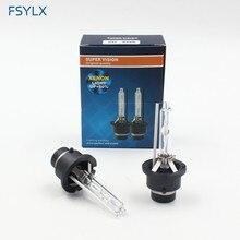 FSYLX AUTO AUTO D2S D2C D4S D4C 35 w 12 v Xenon HID faro lampade 4300 k 6000 k Auto fari Allo Xeno HID Lampadine Lampada Della nebbia D4 D2S