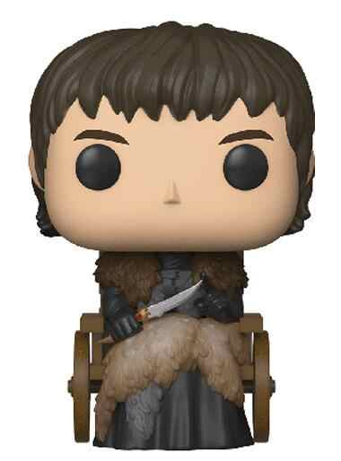 Game of Thrones 67 Brandon Stark su sedia a rotelle Vinyl Figure Modello Giocattoli Regali