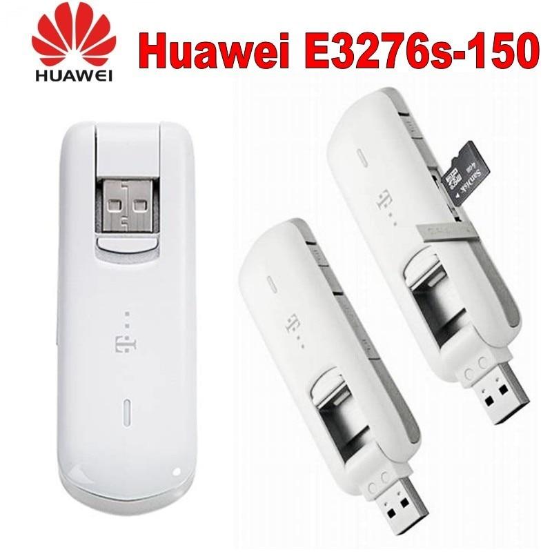 100% déverrouillage d'origine LTE 150 Mbps HUAWEI E3276S 4G Modem universel USB et Modem 4G LTE