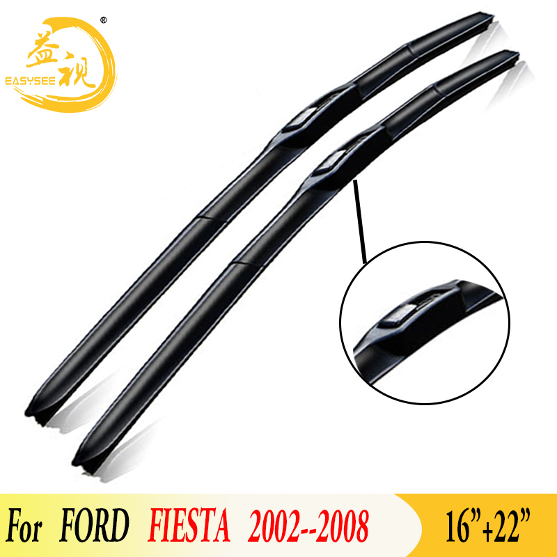 Easysee Wiper blade for 3 Section winter Rubber windscreen windshield wiper Car <font><b>accessory</b></font> <font><b>FORD</b></font> <font><b>FIESTA</b></font> (2002-2008)16