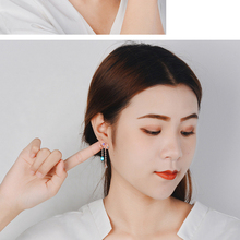 Two Colors Cloud Shape Fashion Earrings For Women