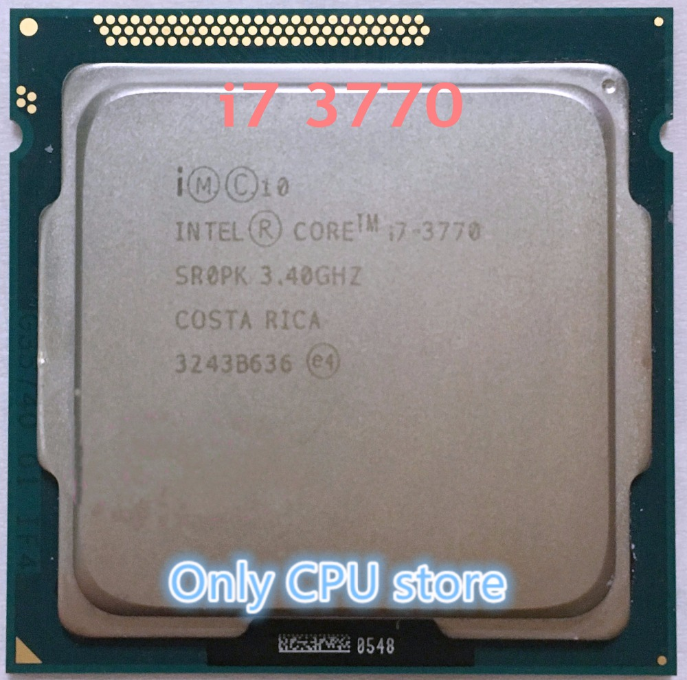 Intel Core I7 3770 34ghz Sr0pk Quad Lga 1155 Cpu Processor In 4790 34 Box Socket 1150 Cpus From Computer Office On Alibaba Group