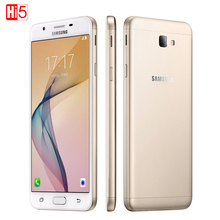 "Samsung Galaxy On5 G5520 2016 Mobile Téléphone Double SIM Carte 5.0 ""2 GB RAM 16 GB ROM 4G LTE Android 6.0 D'empreintes Digitales 2600 mAh Qualcomm"