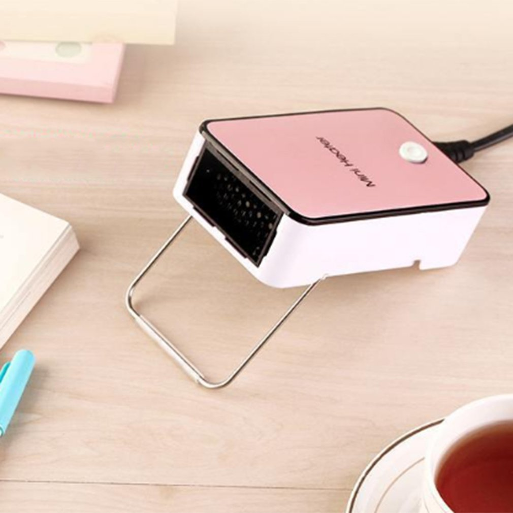 Winter Portable Mini Fan Heaters Portable Desktop Heaters Small Energy Saving Heaters On Office Desk Electric Heaters