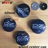 20pcs 60mm 2 36inch OZ Racing Car Badge Emblem Sticker Car Wheel Center Cover Cap Hub