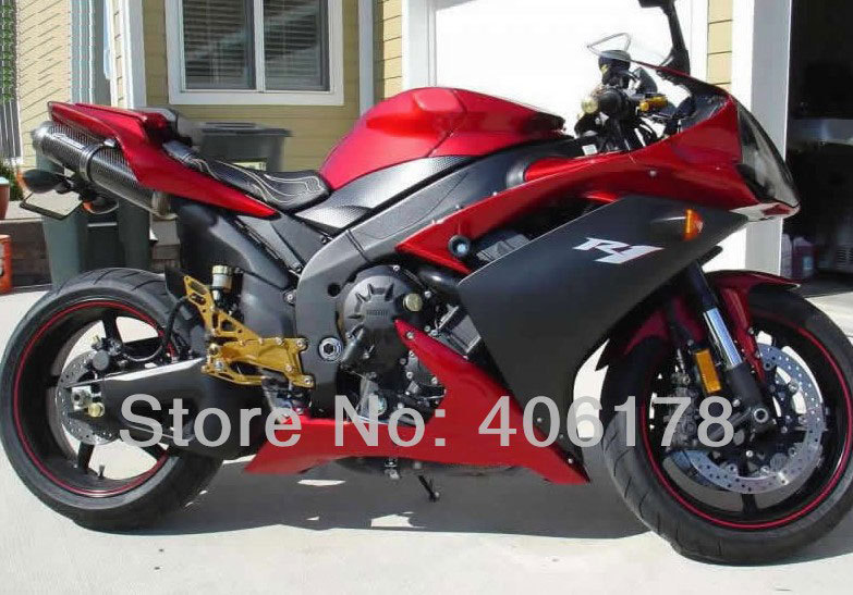 hot sales yzf r1 2007 2008 fairing for yamaha yzf r1 07 08 race bike yamalube bodyworks motorcycle fairings injection molding Hot Sales,YzfR1 07 08 Bodyworks fairings Set For Yamaha Yzf R1 2007 2008 red and black moto fairing kits (Injection molding)
