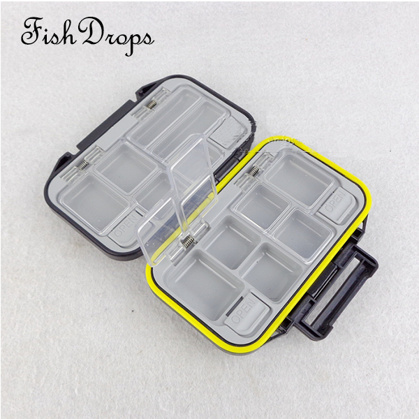 Multifunctional Fishing Tackle Boxes Small Parts Box Waterproof Rock