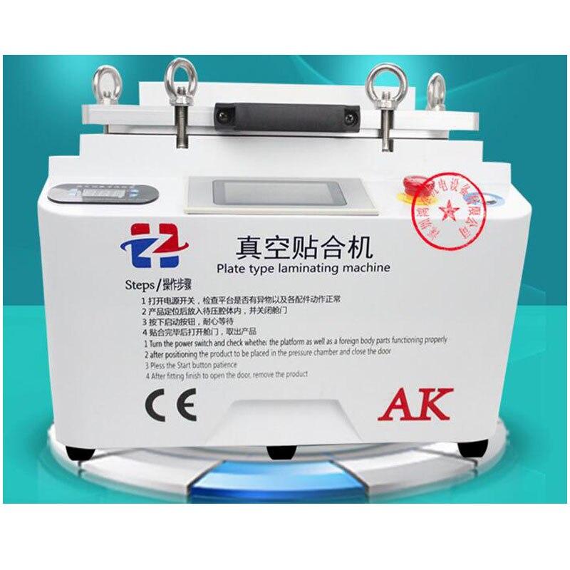 Latest LCD OCA Vacuum Laminating Machine NO Bubble Automatic Laminator Machine For iphone LCD Refurbish Repair  цены