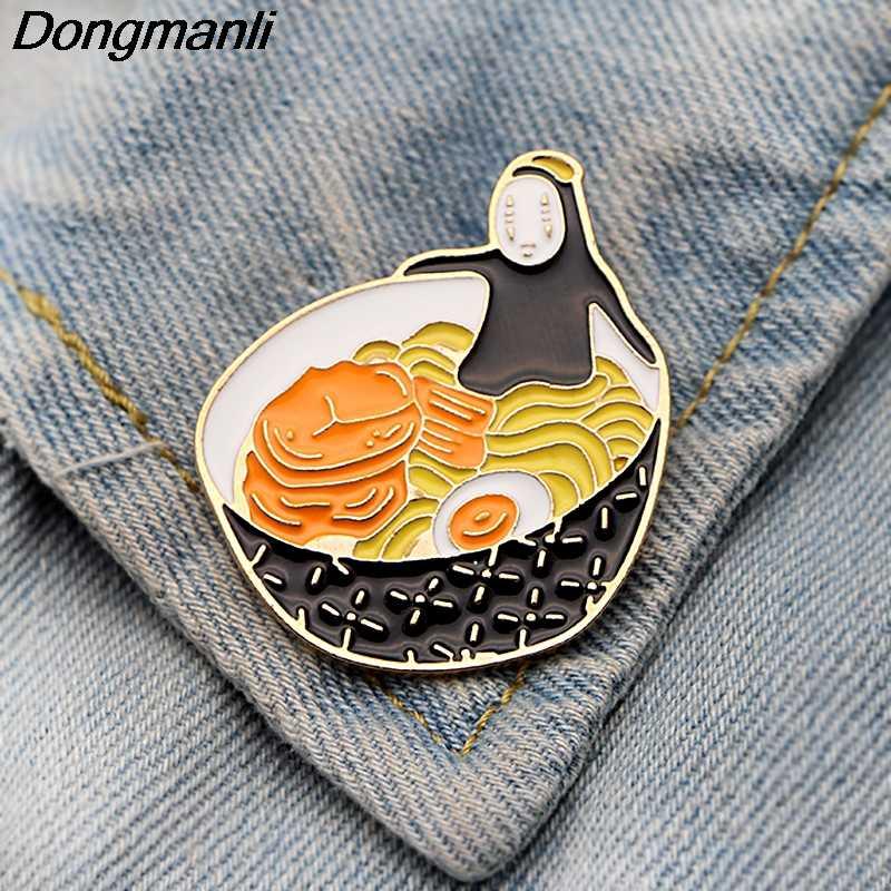 P3844 Dongmanli Bonito Coleção de Esmalte Broches e Alfinetes de Lapela Pino de Metal Crachá Mochila Jóias Collar