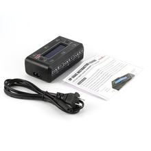 Ultra Power UP-S6 3.7 v LiPo / LiHV Battery Charger MICRO MX JST mCPX USB Charging Port LCD Display For RC Drone Quadcopter