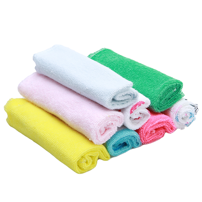 8pcs Lot Children Washcloth Baby Feeding Baby Face Towels