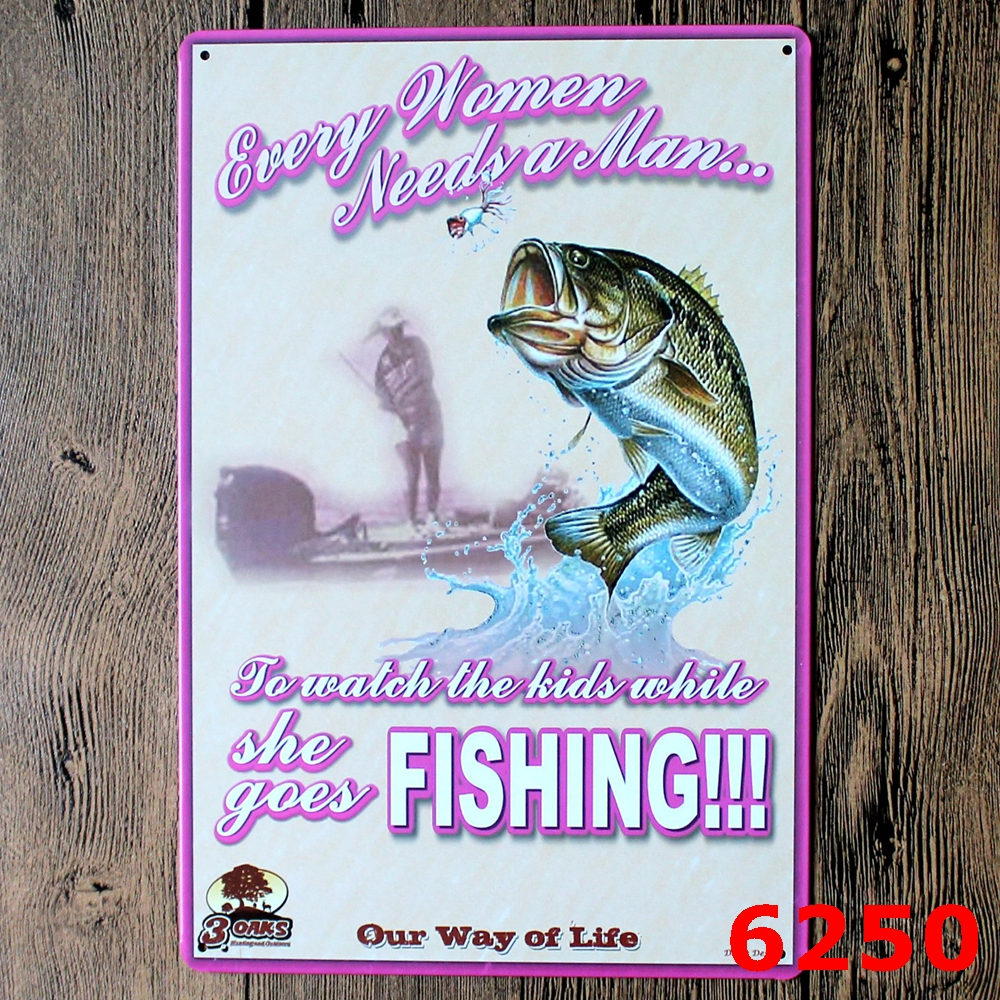 Calmly Fishing Logo Plaque Vintage Metal Painting Wall Sticker Iron Sign Boarddecorative Plates Poster Wholesale Painting Calligraphy Fromhome Fishing Logo Plaque Vintage Metal Painting Wall Sticker I