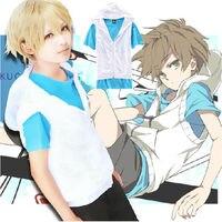 Free Shipping Anime MekakuCity Actors Kagerou Project Cosplay Costume Hibiya Unisex Jacket +Shirt Full Set
