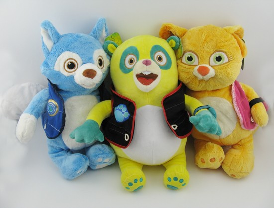 SPECIAL AGENT OSO WOLFIE DOTTY Plush Toy Doll 14free Shpping Set