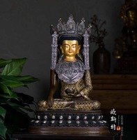 48CM large huge GOOD figure of the Buddha Tibet Lhasa Jokhang Temple Jue Buddha juewo Buddha statue HOME ROOM GOD bless