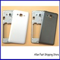 Original New Middle Bezel Frame Rear Battery Door Case Cover For Samsung Galaxy Grand prime G531 Housing With Camera Glass +LOGO