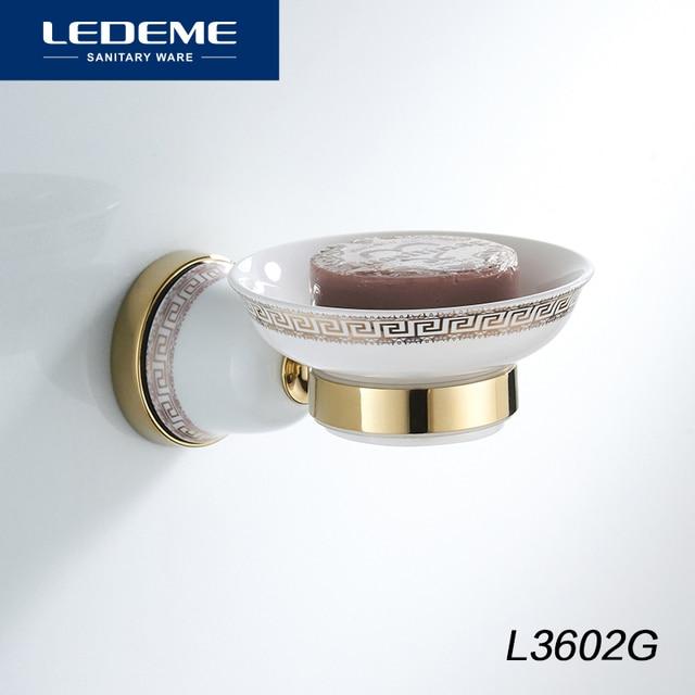 Ledeme Wall Mounted Soap Dish Soap Holder Box Soap Basket Holder