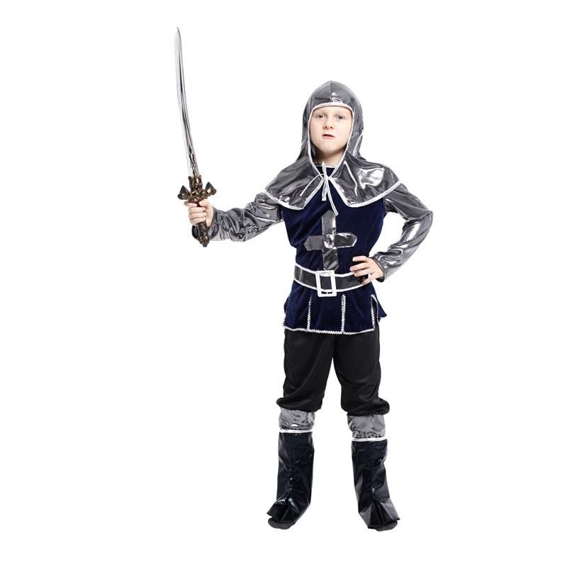 M-XL Brezplačna dostava Otroške noče kostumov Fantje križarske - Karnevalski kostumi