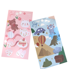 20 pack/lot Kids Gift Sprout Stickers Kawaii Diary Deco Scrapbooking Planner Paper Childrens Sticker