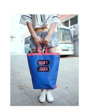 Письма моды Печать Рюкзак Большой Емкости Холст Школьный Студенты Сумка Рюкзаки Для Девочек-Подростков Mochilas