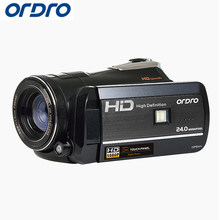 Ordro HD Digital Camera 18X 24.0 MP Photo Reflex Wifi Cameras Video Recorder CMOS Night Vision Camcorders(China)