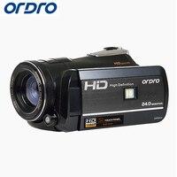 Ordro HD Цифровая камера 18X24,0 Мп фото рефлекс Wifi камеры видео Рекордеры CMOS ночного видения видеокамеры