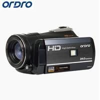 Ordro HD цифровой Камера 18X24.0 Мп фото рефлекс Wi-Fi Камера S-Video Регистраторы CMOS Ночное видение Видеокамеры