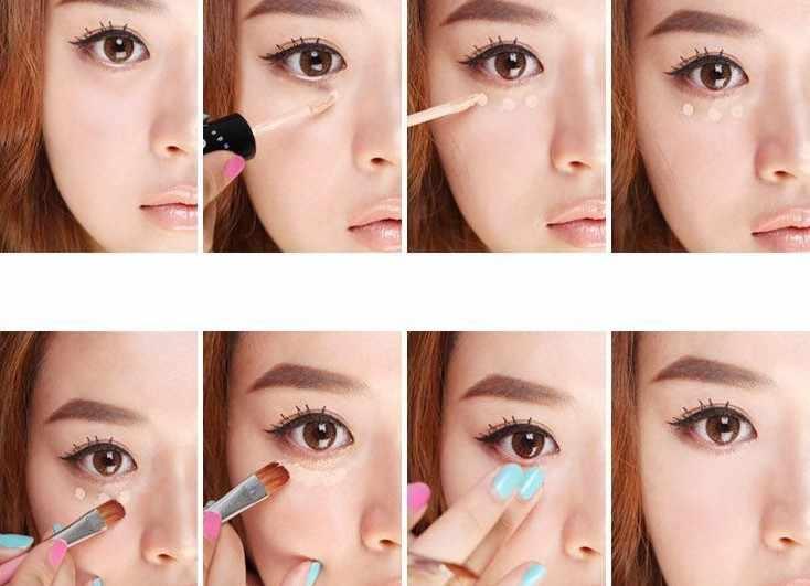 1 caixa kawaii Maquiagem Líquido Corretivo Vara Esconder Blemish Creme Concealer Lip/Dark Eye Círculo Capa Corretivo de Longa Duração hot 2