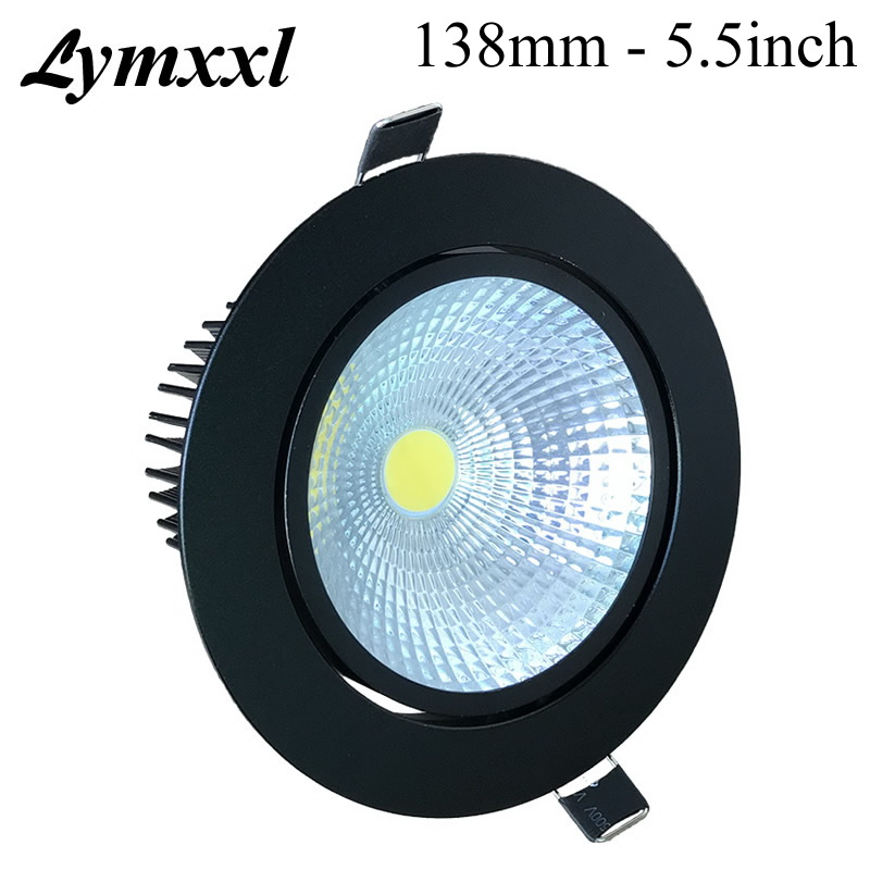 20w Led Dimmable: 25PACK 5.5inch 138mm Black Shell 20w 25w Led Dimmable Cob