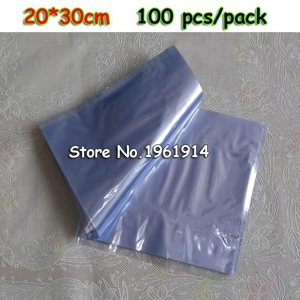 12x18cm 200pcs Pvc Heat Shrink Bags
