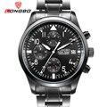 2017 longbo marca de lujo negro del ejército deportes multifunción calendario pantalla analógica fecha luminoso muñeca relojes de los hombres de negocios 80100