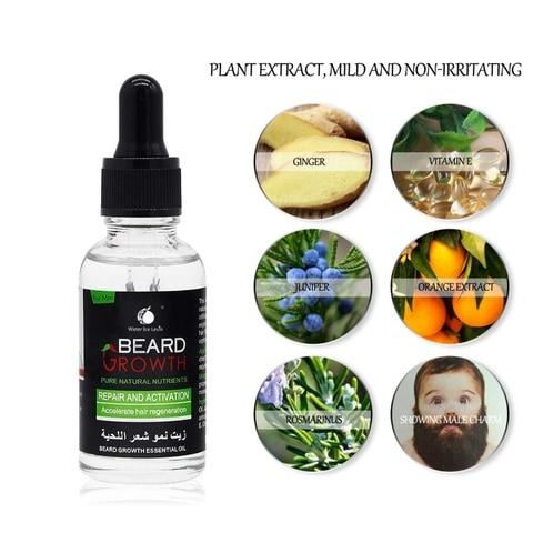 Professional Men Beard Growth Serum Nourishing Beard Anti-Dandruff Anti-Static Plant Nutrients Beard Growth Liquid Wholesale Lahore