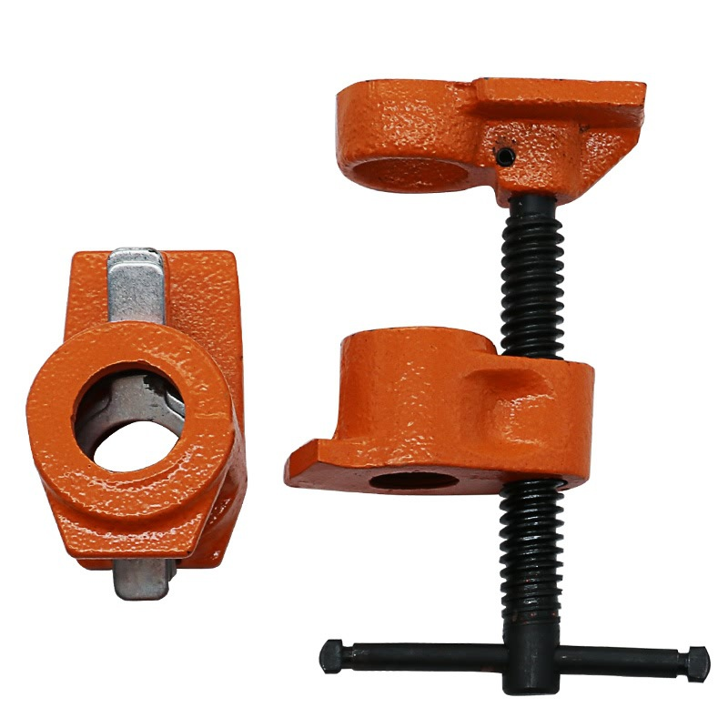 1/2 inch Heavy Duty Pipe Clamp Woodworking Wood Gluing Pipe Clamp Pipe Clamp Fixture Carpenter Woodworking Tools pipe clamp pipe clamp for lighting clamp for 50mm pipe