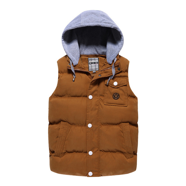 YG6077-2  Cheap wholesale 2016 new Han edition cultivate one's morality men's vest type movement sleeveless young hooded jacket