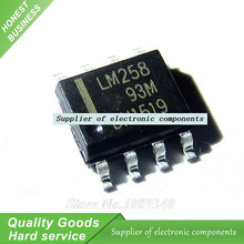 20pcs/lot LM258DR LM258 SOP-8 Dual Operational Amplifier IC New Original Free Shipping