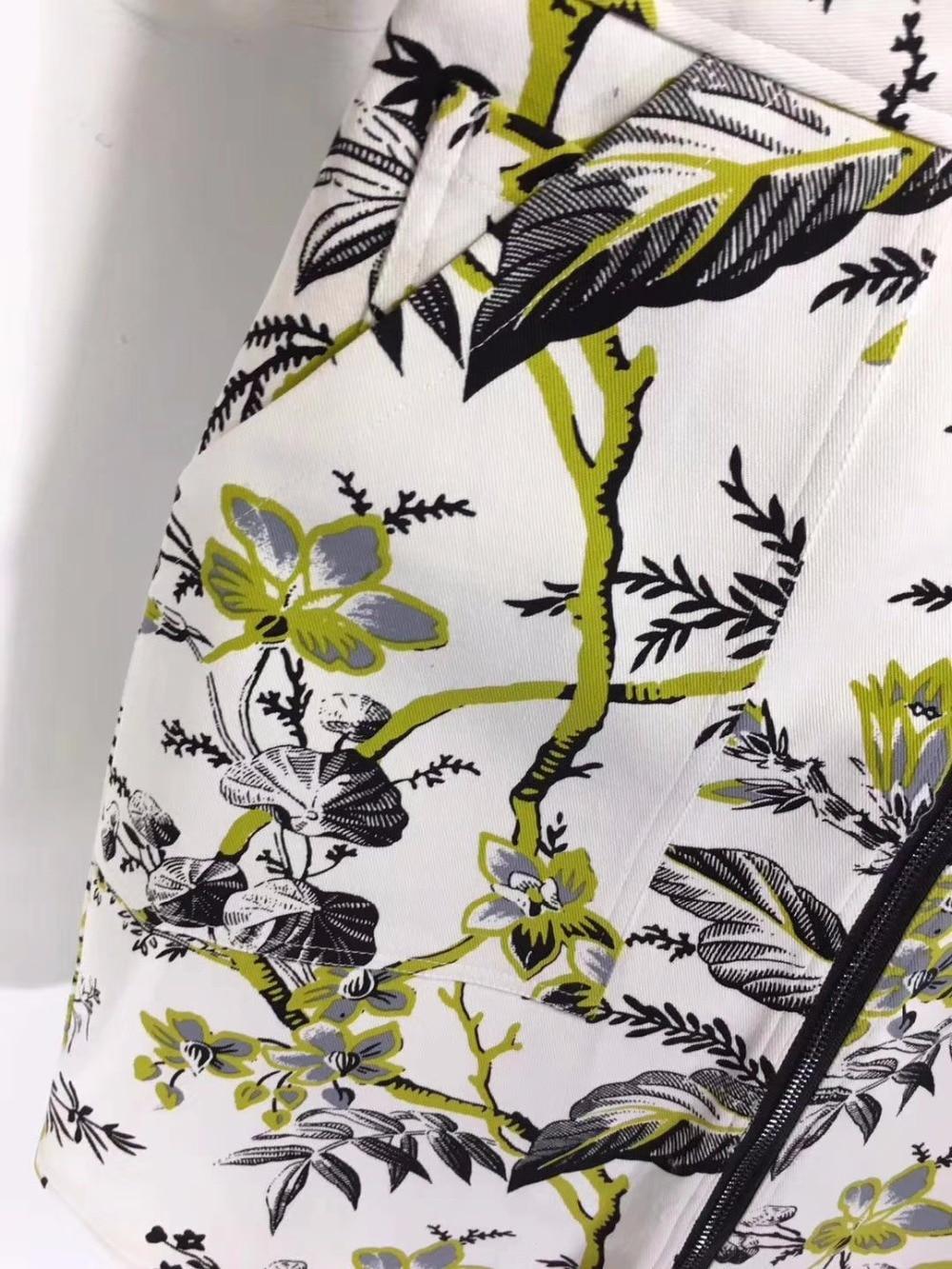 Faldas Falda Ropa Le Harajuku Vintage Moda Boho Denim Mujeres Simple Jeans Streetwear Impresión Palais Las Para Floral SqxwnaU0
