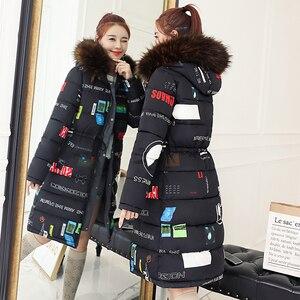Image 3 - SWREDMI Spessore Caldo Giacca Femminile 2020 Sottile Coulisse delle Donne di Inverno Parka Più Il Formato 3XL Wadded Cappotti Con Cappuccio Usura entrambi I Lati