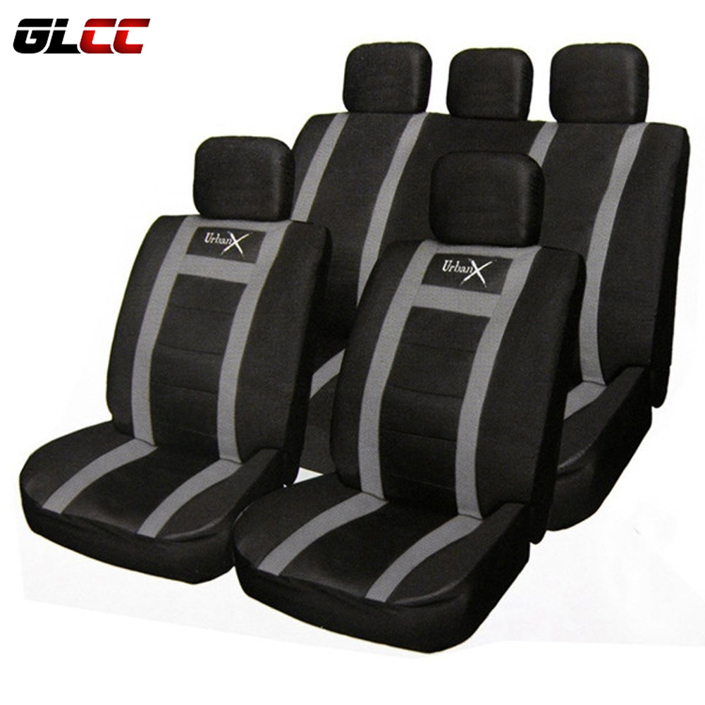 11pcs PU Leather Car Universal Seat Cover Set Protector Seats Black Cushion Covers Auto Styling lada granta All Season Car Care beibehang simple english alphabet papel de parede 3d wallpaper flocking wallpaper bedroom living room home decoration wall paper
