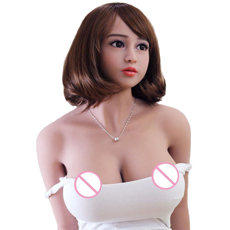 Adult sexual supplies158cm New full silicone big breast font b sex b font font b doll