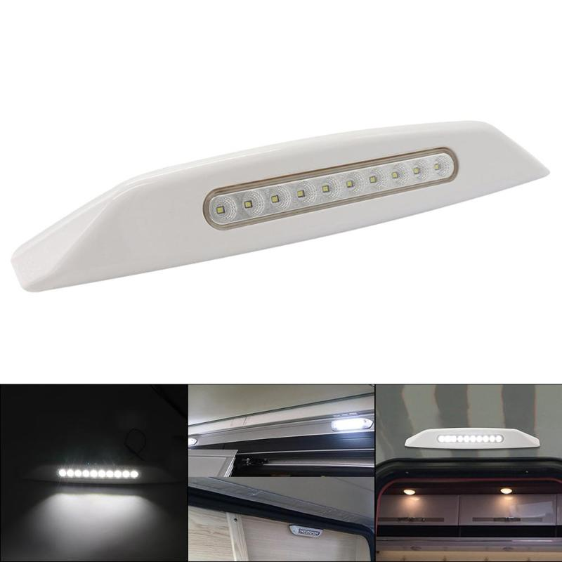 3W 12V LED RV Awning Light 10 LED For Marine Caravan Camper Exterior Porch Lamp RV Boat Accessories